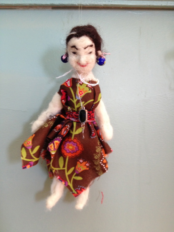 Crone Spirit Doll Needle-felted