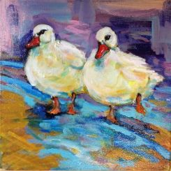 SOLD - Like ducks to water (sold)