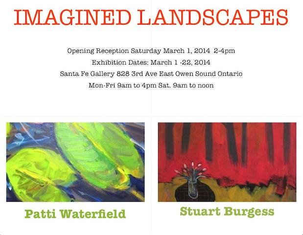 Imagined Landscapes E-vite