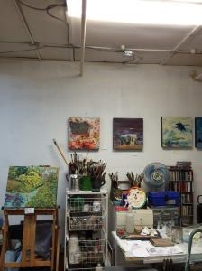 patti waterfield studio, paintings,